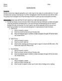 Zombie Survival Ice Breaker and Introduction to Science Activity