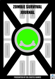 25-Day Writing Journal: Zombie Survival!