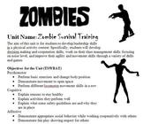 Zombie Survival PE Unit