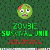 Zombie Survival Unit: ELAR Creative & Sequential Writing