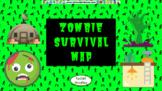 Zombie Survival Unit: Social Studies Map Skills Google Sli