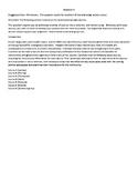 Zombie Synthesis Essay (AP Language)