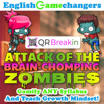 Zombie-Themed Back to School REVERSE Escape Room! Break IN to ANY Class!