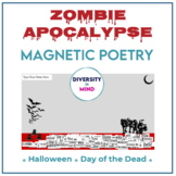 Zombie-Themed Magnetic Poetry
