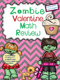 Zombie Valentine Math Review (5th-6th grade)