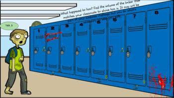 Zombie Volume Practice Problems