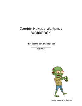 Zombie Workshop Workbook (Fun Halloween Activity)