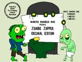 Zombie Zapper: Adding, Subtracting, Multiplying, or Dividing Decimals