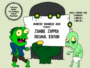 Zombie Zapper: Adding, Subtracting, Multiplying, or Dividi