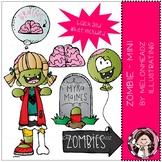 Zombie clip art - Mini - by Melonheadz