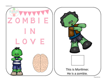 Zombie in Love Interactive Book