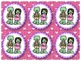 Zombie -licious Valentine Grouping Cards Cute Zombie Theme