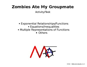 Zombies Ate My Groupmate - Exploring Exponential Functions