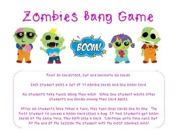 Zombies Bang Game