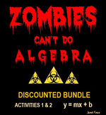 Slope-Intercept Equations and Graphs:  Zombies Can't Do Al