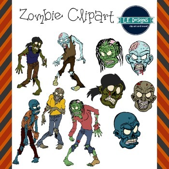 Zombies Clipart