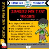 Zombies Don't Eat Veggies! Book Companion ENGLISH VERSION