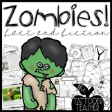 Zombies Fact and Fiction Literacy Close Reads and Comprehension