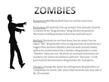 Zombies Fitness