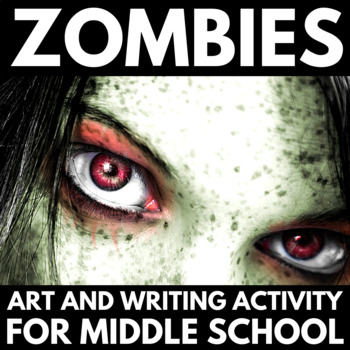 Halloween Writing And Art Activities Zombies By Creative Classroom