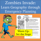 Zombies Invade (5th grade): Learn geography through emerge