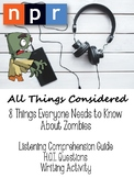 Zombies Podcast - Listening Comprehension, Text Analysis,