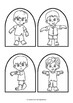 Zombies - Stick Puppet Templates