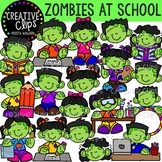 Zombies at School {Creative Clips Clipart}