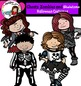 Zombies, ghosts and Skeletons- Halloween kids-
