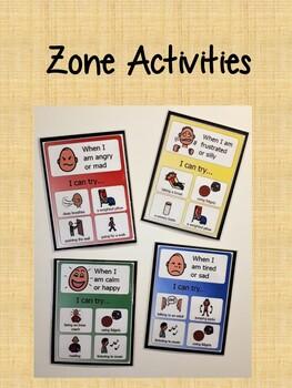 Zone Activities - Gradient Background