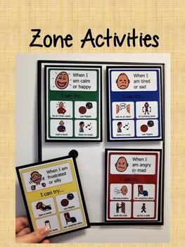 Zone Activities - Solid Background