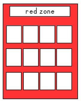 Zone (feeling) sort
