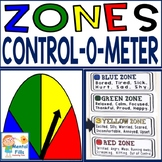 Zones Control-O-Meter Poster and Emotional Regulation Game