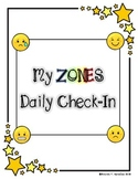Zones Daily Check-In Journal