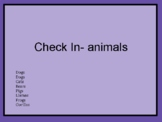 ZONES Emotions Check In Emoji Sheets- Animals