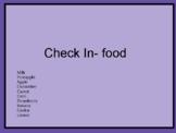 ZONES Emotions Check In Emoji Sheets- Food