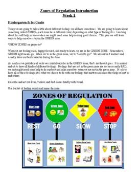 Zones, MindUp, Mindfulness Lesson Plans