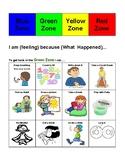 Zones Problem Solving Strategy Sheet