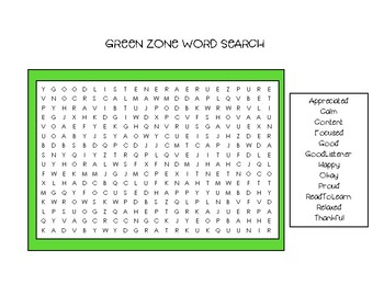 Zones Word Search Bundle