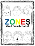 Zones Word Search Packet