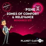 Zones of Comfort & Relevance Kit | Inspire Goal Setting |