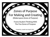 Zones of Purpose For Making and Creating (Makerspace Zones