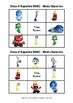 Zones of Regulation - BINGO - Inside Out