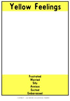 Self Regulation Tools: Customizable Feelings/Emotion pack