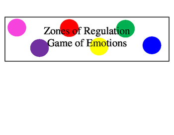 Emotions Board Game: Inside Out version