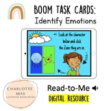 Zones of Regulation: Boom Task Cards! (Differentiated 2 Choices)