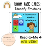 Zones of Regulation: Boom Task Cards! (Differentiated 3 Choices)