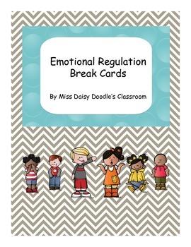 Emotional Regulation Break Cards