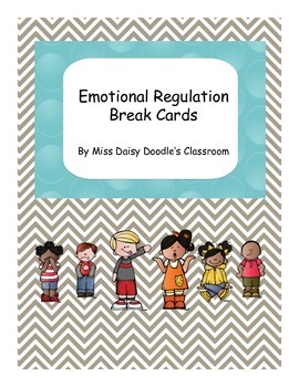 Emotional Regulation Break Cards