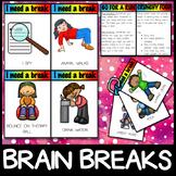 BRAIN BREAKS - Self Regulation Sensory Movement Breaks